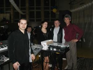 Mestský ples Vráble muzikanti